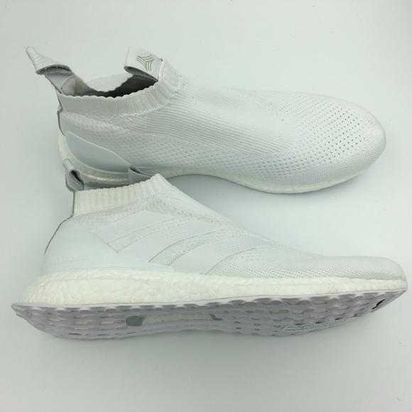 0eab75ce6c18 Adidas Ultraboost A16+ AC7750 Soccer Slip On 11.5